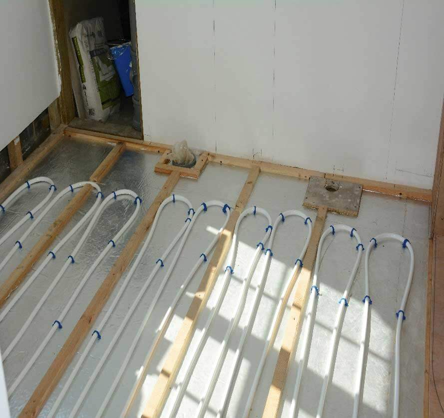 How much does underfloor heating cost to install for How much does pex cost