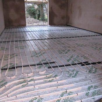 exposed underfloor heating