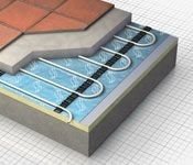 Image result for underfloor heating construction pinterest